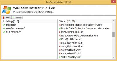 RunOnce Installer - WinToolkit Bugs - WinCert net Forums