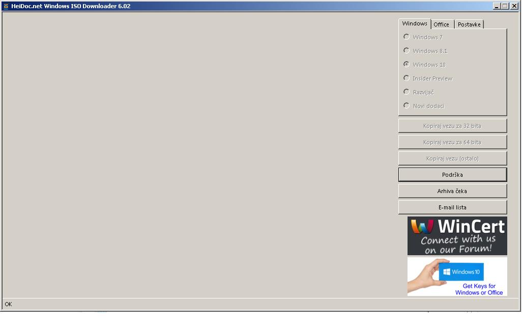 Windows ISO Downloader crashing  - Windows ISO Downloader