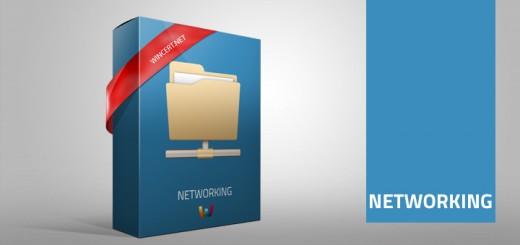 networking box, proxy,domain,popcorn,mapped drive,windows,notification