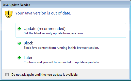 java 6 update 22 windows