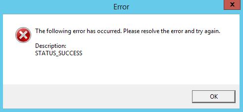 kms error 1