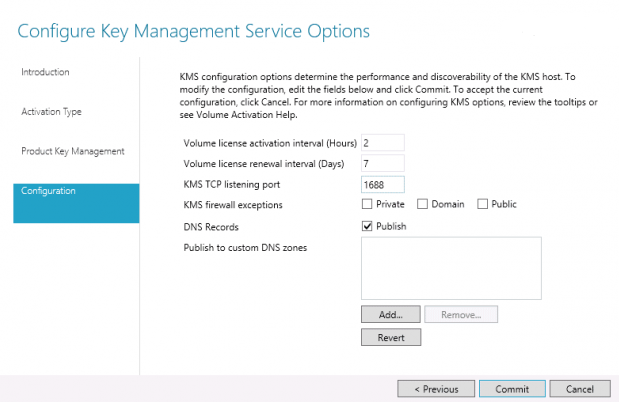 microsoft kms activation through firewall