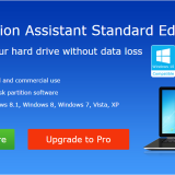 Aomei Partition Assistant Standard