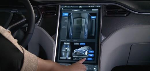 Tesla-computer-console