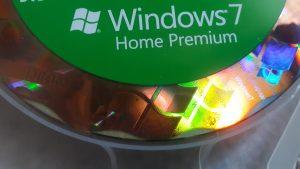 windows 7 counterfeit