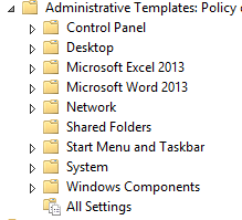 Cannot Add Office Administrative Templates on Windows Server