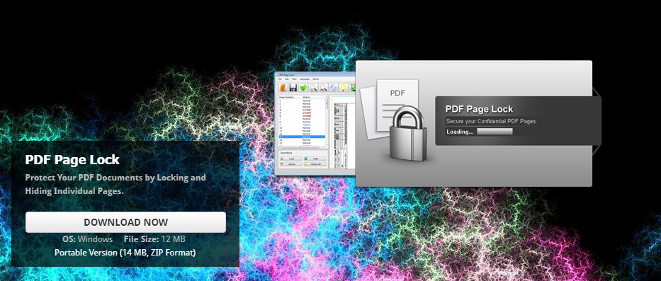 PDF Page Lock - A Free PDF Protection Software - WinCert