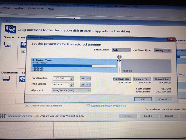 Unallocated or Unsupported drive