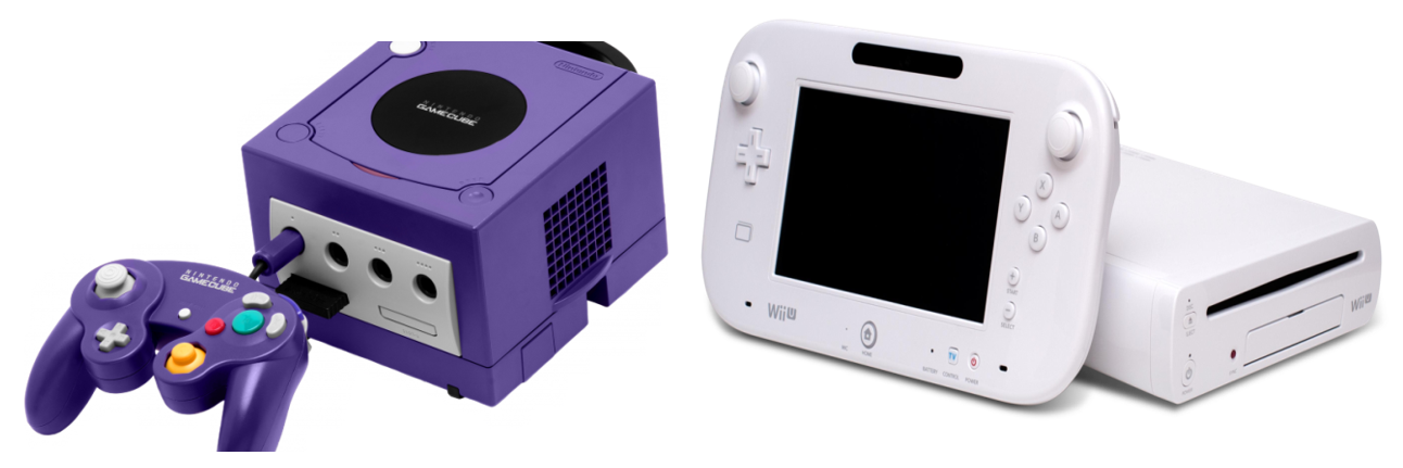 Nintendo Wii and GameCube
