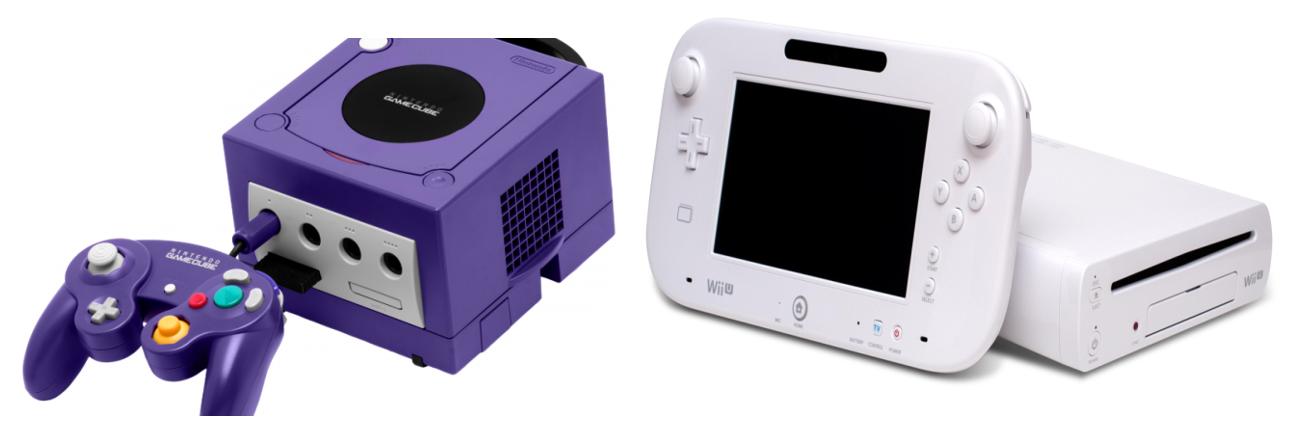 Nintendo Wii and GameCube