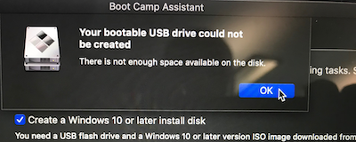 mac os bootcamp windows 10 iso