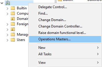 How to transfer FSMO roles on Windows 2016 Server - WinCert