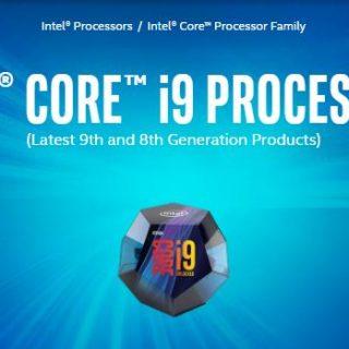 i9-900KS processors