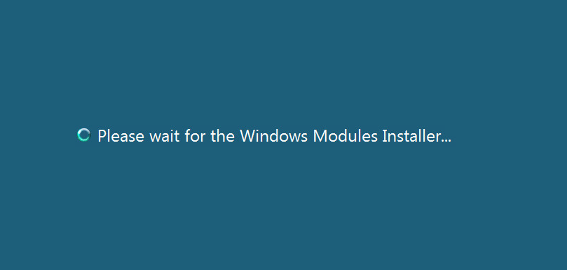 Windows Modules Installer Service