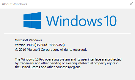 KB4515384 update