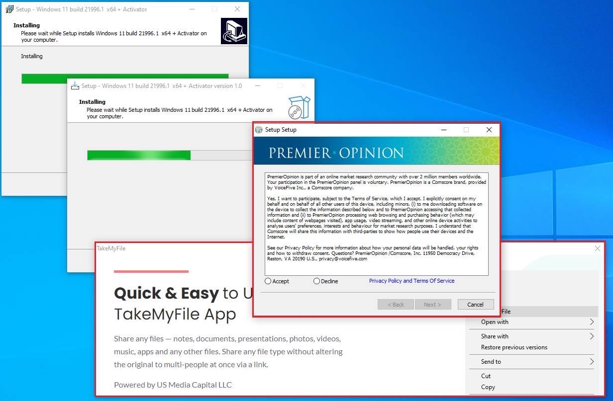 Fake Windows 11 installers are installing ads and trojans